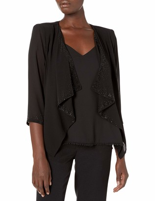 Calvin Klein Women's Chiffon Shrug with Embellishment