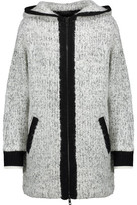 Rag & Bone Adele Marled Wool-Blend Hooded Coat