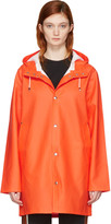 Stutterheim Orange Stockholm Raincoat