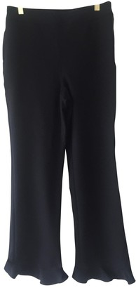 Opening Ceremony Black Polyester Trousers