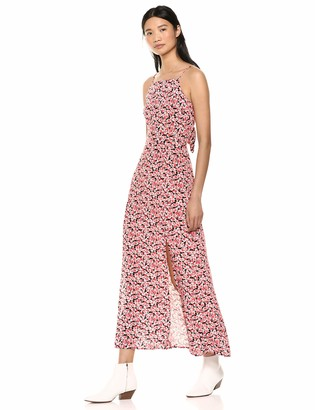 The Fifth Label Women's Fresco Sleeveless Floral Long TIE Back Maxi Dress