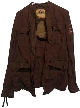 Napapijri Brown Linen Jacket for Women