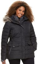 Free Country Plus Size Hooded Puffer Down Jacket