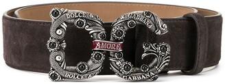 Dolce & Gabbana Amore buckle belt
