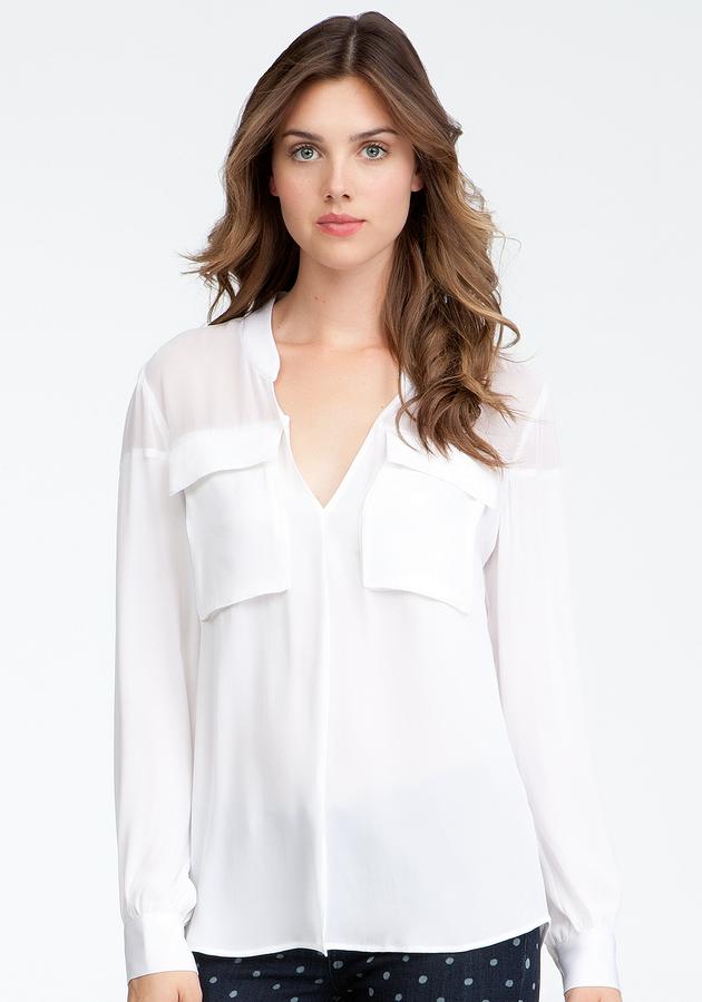 Bebe Oversized Pocket Shirt