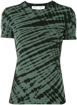Proenza Schouler White Label tie-dye stretch T-shirt