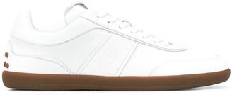 Tod's Low-Top Logo Embossed Sneakers