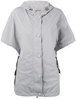 Eleventy shortsleeved hooded jacket - women - Nylon/Polyamide/Spandex/Elastane - S