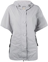 Eleventy shortsleeved hooded jacket - women - Polyamide/Spandex/Elastane/Nylon - L