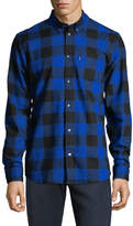 Wesc Men's Olavi Buffalo Check Shirt