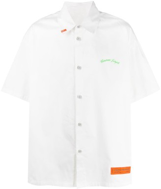 Heron Preston Short Sleeve Boxy Fit Shirt