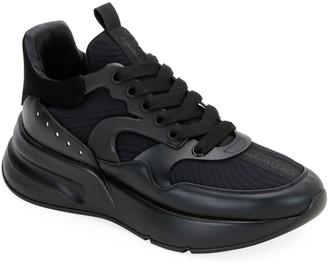Alexander McQueen Men's Tonal Oversized Runner Sneakers