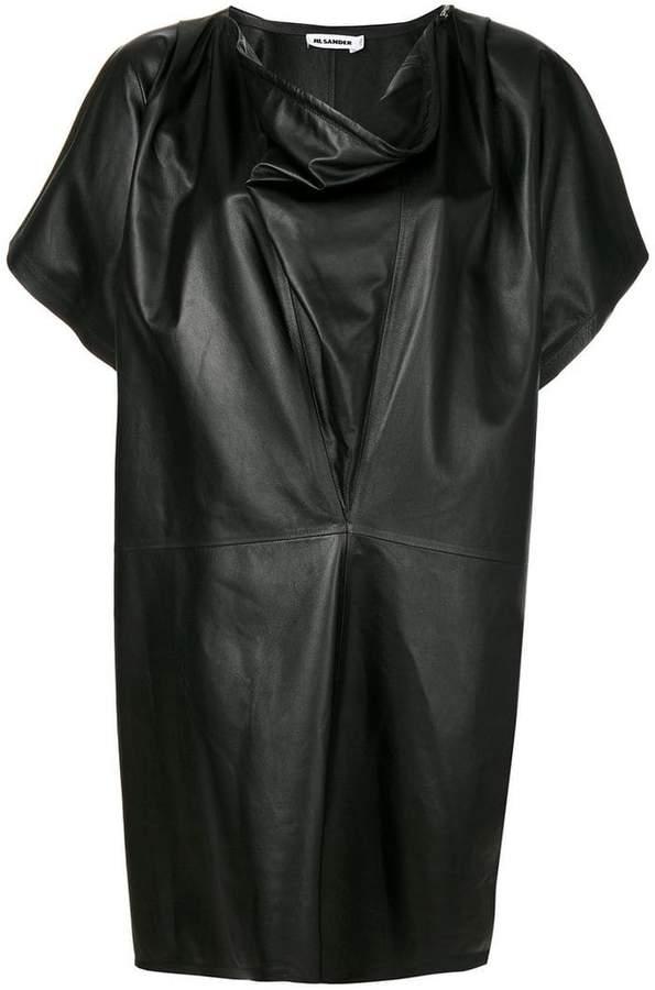 Jil Sander cowl neck dress