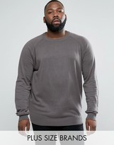 D-Struct PLUS Basic Crew Neck Knit