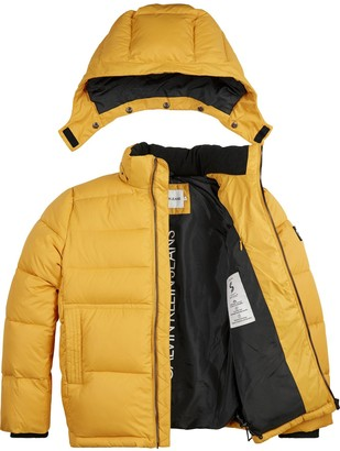 Calvin Klein Jeans Essential Padded Jacket - Yellow