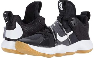 Nike React Hyperset (Black/White/Gum Light Brown) Women's Shoes
