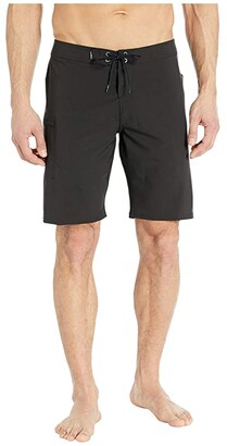 O'Neill Hyperfreak Solid Boardshorts (Ocean) Men's Swimwear