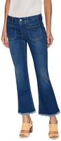 Stella McCartney Women's Fading Cotton Flared Jean