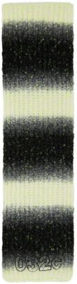 032c Multicolor Wool Logo Scarf