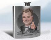 Etsy Groomsmen Flasks, Groomsman Flask, Best Man Flask, Usher Gift, Engraved Hip Flask, Engraved Flask, W