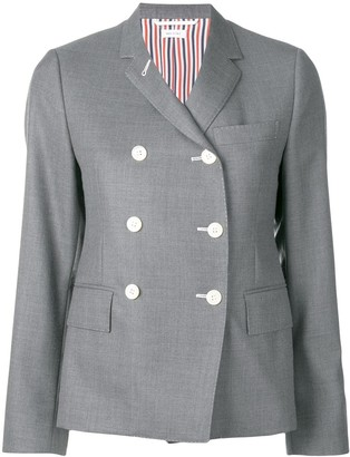 Thom Browne Narrow Shoulder Wool Sport Coat