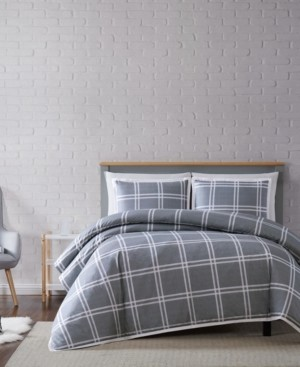 Truly Soft Leon Plaid Full/Queen Duvet Set Bedding