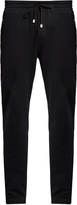 Dolce & Gabbana Logo-plaque cotton track pants