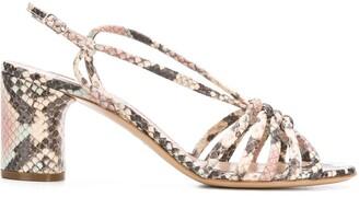 Casadei Safari strappy sandals