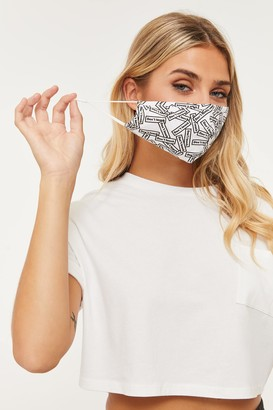 Ardene Don't Touch Print Reusable Face Covering