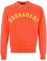 DSQUARED2 printed logo sweatshirt - men - Cotton - S