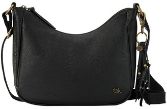The Sak 108958BLA Isabella Zip Top Crossbody Bag