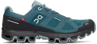 On Blue Waterproof Cloudventure Sneakers