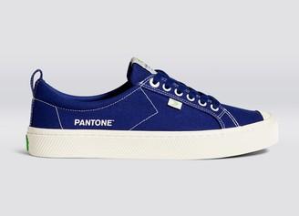 Cariuma OCA Low Pantone Blueprint Canvas Contrast Thread Sneaker Women