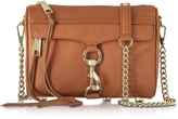 Rebecca Minkoff Mini Mac Amond Leather Crossbody Bag