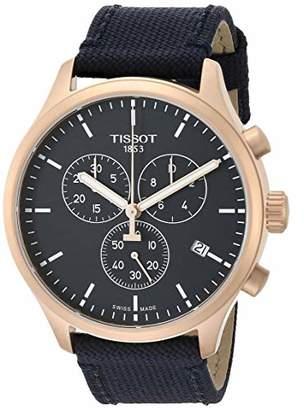 Tissot Men's Chrono XL Stainless Steel Swiss Quartz Sport Watch with Nylon Strap