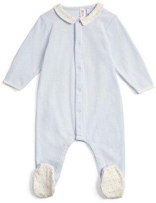Petit Bateau Cotton All-In-One (0-12 Months)