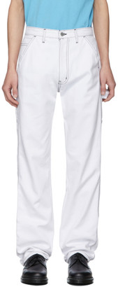 Noon Goons White Throttle Jeans