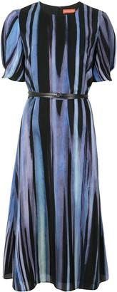 Altuzarra Gorman striped belted dress