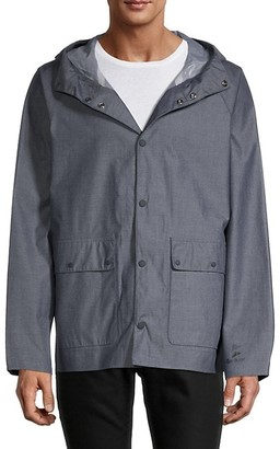Barbour Foble Hooded Chambray Jacket