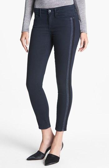 Vince 'Dylan' Side Stripe Skinny Jeans