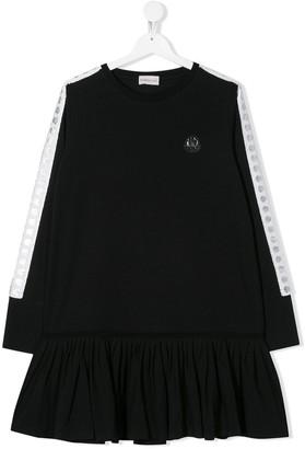 Moncler Enfant Logo Patch Dress