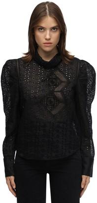 Isabel Marant Qyandi Broderie Anglaise Shirt