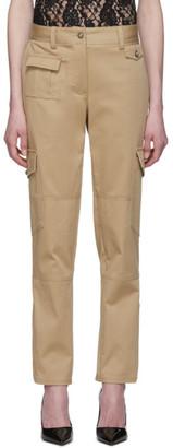 Dolce & Gabbana Beige Gabardine Cargo Pants