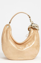 Jimmy Choo 'Solar - Small' Patent Leather Hobo