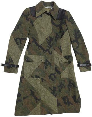 JC de CASTELBAJAC Khaki Wool Coats