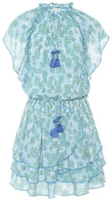 Poupette St Barth Elsa floral minidress