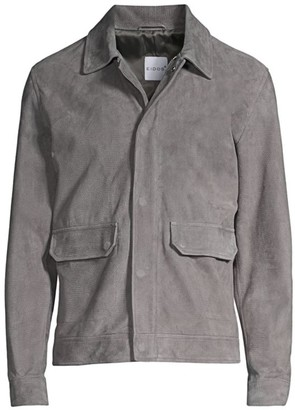 eidos Textured Suede Ranch Jacket