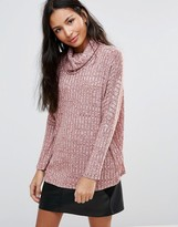 B.young Roll Neck Sweater