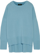 Theory Karenia Cashmere Sweater - Light blue