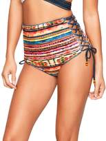 Agua Bendita Womens Bendito Arizona Bikini Bottom (S)